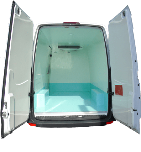 Chilled Van Conversions by Cold Consortium  Approved by