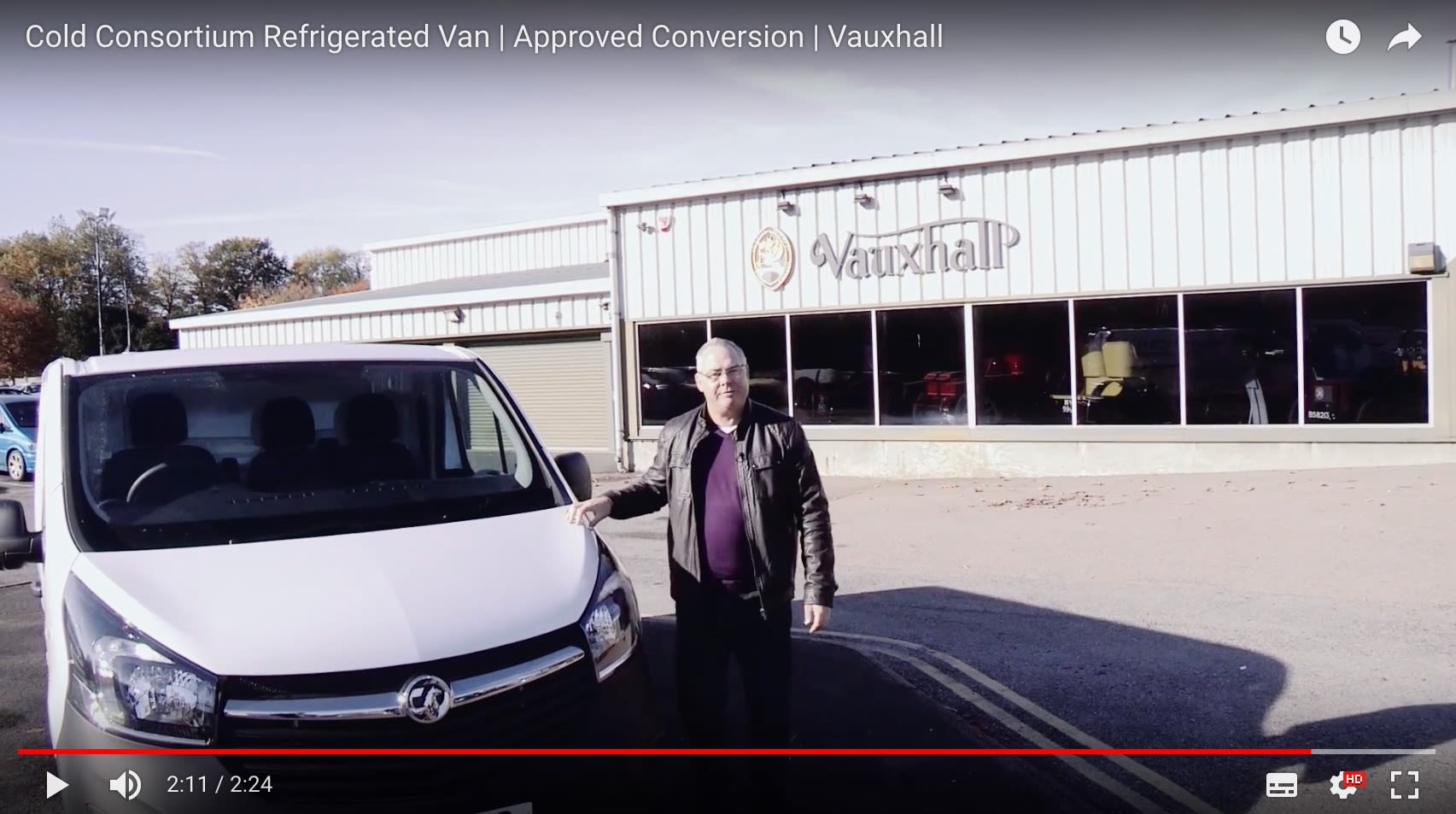 Watch the Official Vauxhall Video for Our Refrigerated Van Conversions