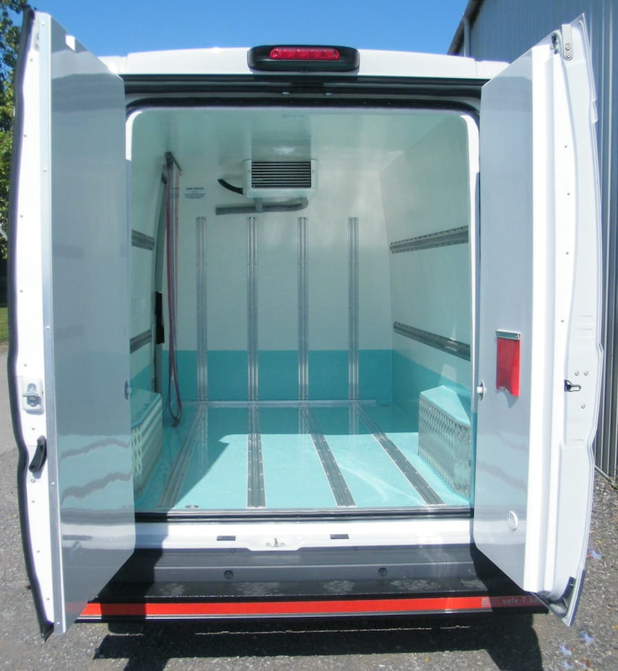 Fiat Ducato Freezer Conversion