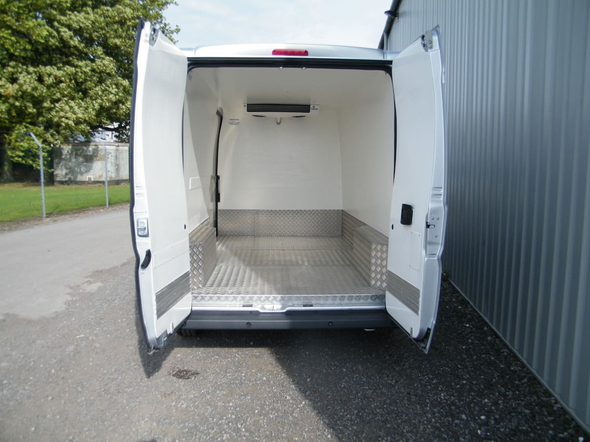 Fridge Conversion with Aluminium Floor