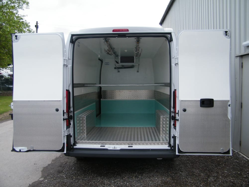 Meat Rail System for Fridge Vans