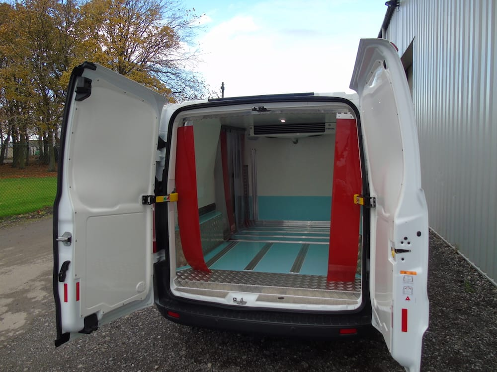 Pallet Protection for Refrigerated Van