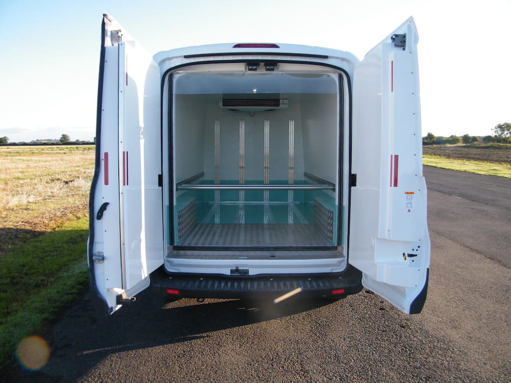 Deep Freeze Doors on Panel Van