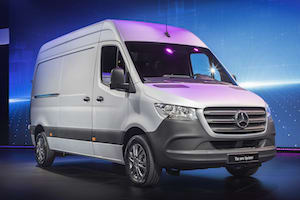 Mercedes Benz to Electrify Range of Vans