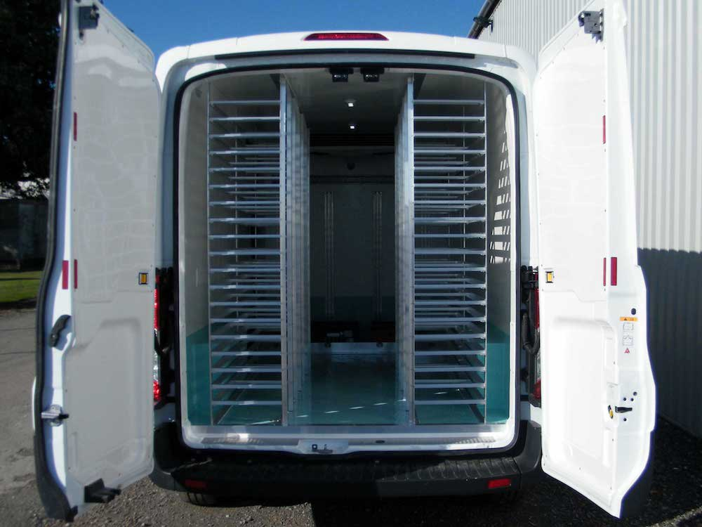 Refrigerated Van Racking Systems
