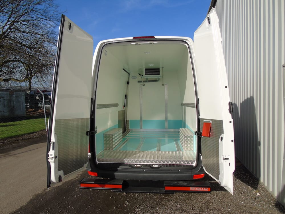 Fridge Van Conversion with Hope T Bar