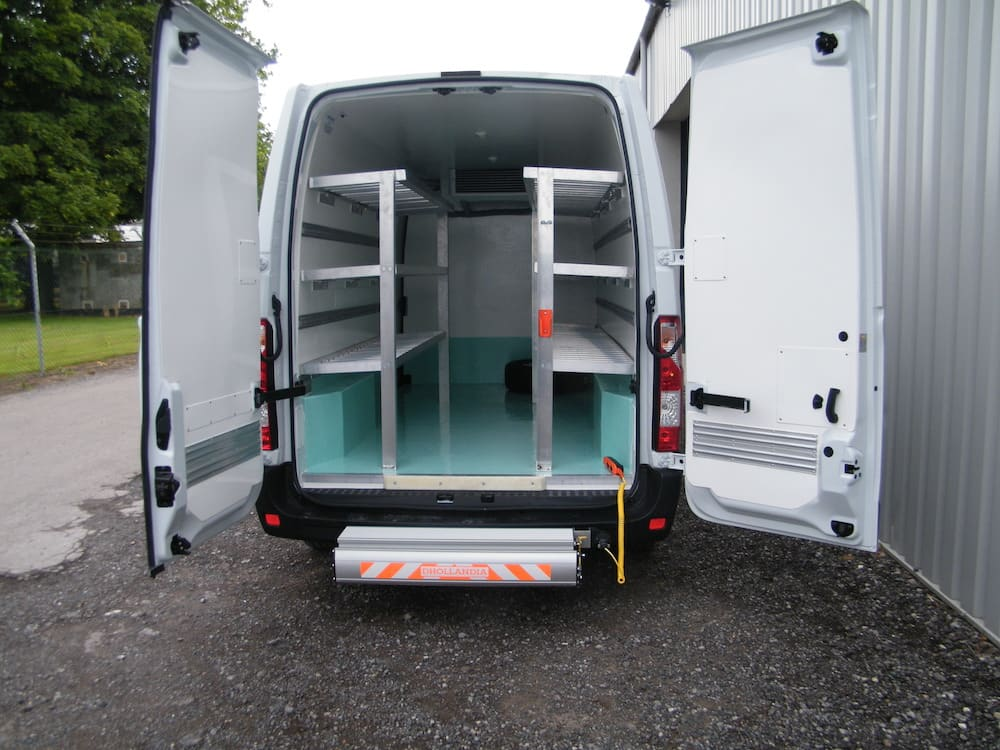 Fridge Van Conversion with Tail Lift