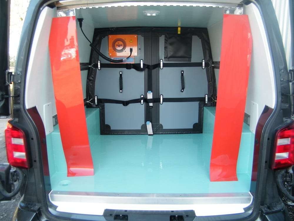 Chilled Van Twin Compartment with Air Transfer