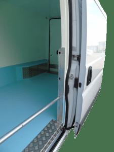 Chilled Van Side Load Door