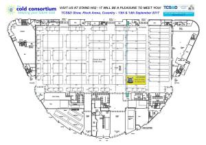TCS&D 2017 Cold Consortium Floor Plan
