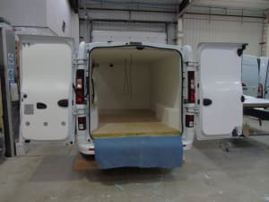 Chilled Van Conversion Before