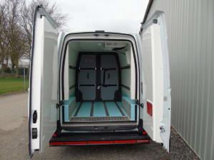 Vauxhall Movano Hygienic Conversion