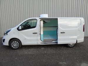 vauxhall vivaro fridge conversion