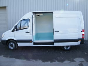 Mercedes Wet Fish Van Conversion
