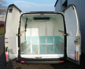 ford transit custom chiller conversion