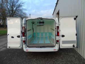 Chilled Van Conversion After