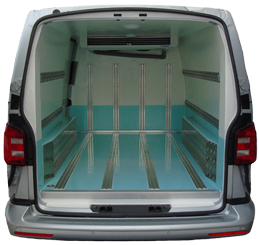 Van Chiller Conversion Rear Compartment