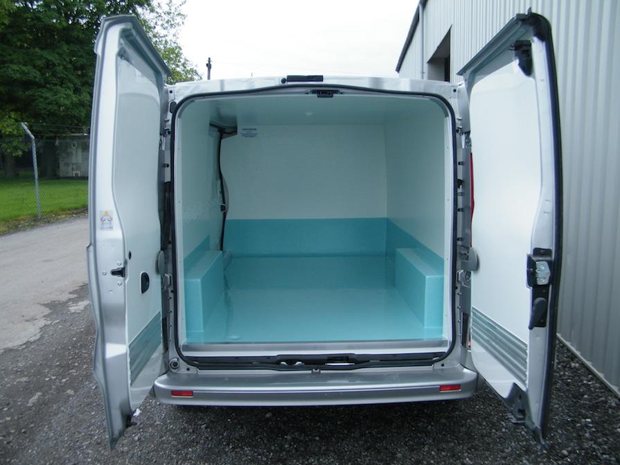 Vauxhall Vivaro L2H1 Hygienic Fish Conversion: Code 041