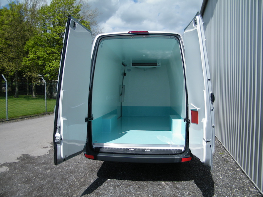Volkswagen Crafter CR35 LWB Hygienic Conversion: Code 046