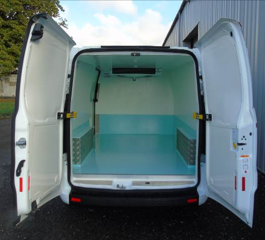 Ford Transit Custom Webasto Fridge Conversion: Code 050