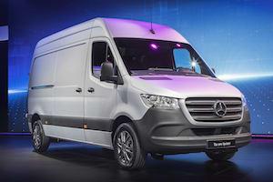 New Mercedes Benz Refrigerated Sprinter Conversion