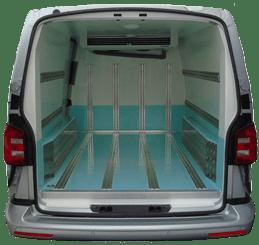 Van Chiller Conversion Rear Compartment