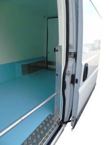 Chilled Van Side Load Door
