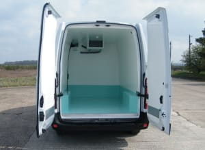 Renault Master Freezer Conversion