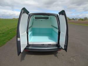 VW Caddy Freezer Van