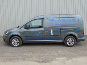 VW Caddy Freezer Van Conversion