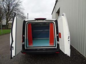 Mercedes Vito Freezer Conversion with Aircon