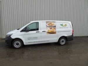 Mercedes Benz Vito Freezer and Aircon