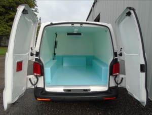 Volkswagen Transporter Zanotti Fridge Conversion Rear View