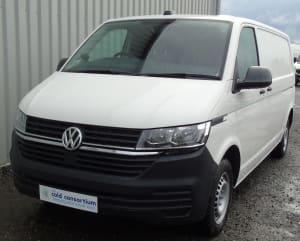 Volkswagen Transporter Zanotti Fridge Conversion Front View