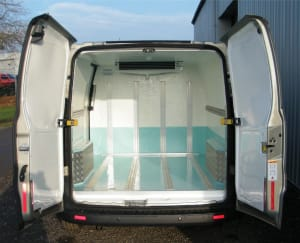 ford transit custom chiller conversion