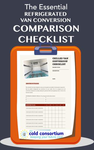 chilled van conversion checklist