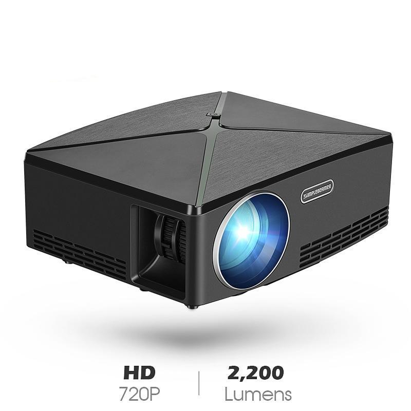 Details about Mini Projector C80 Up 1280x720 Resolution Android Wifi  Projector LED HD Beamer