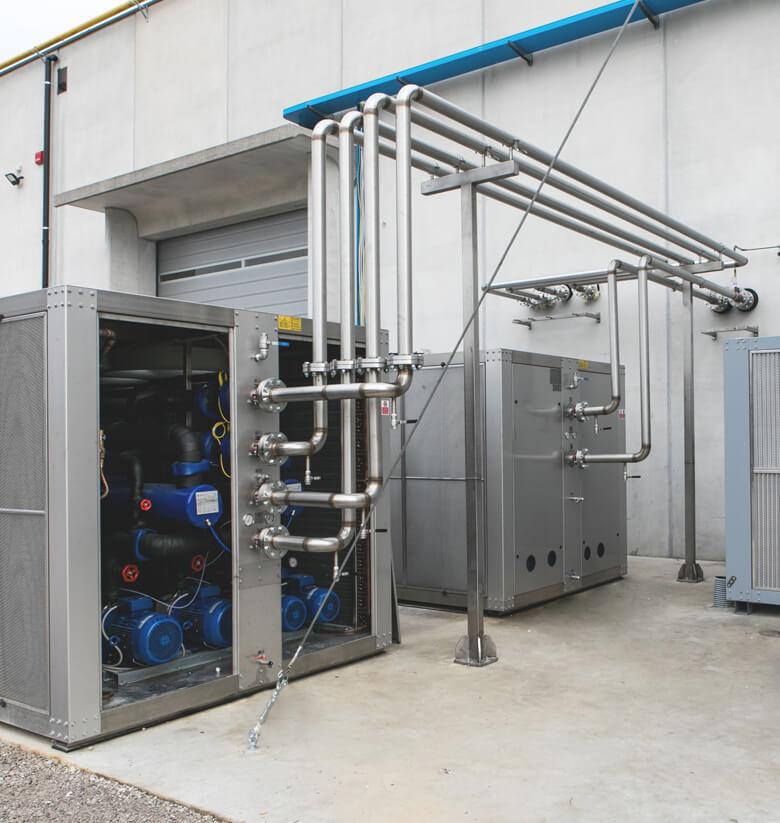 Refrigeratori e macchine ad espansione diretta - BRIF - Sistemi di refrigerazione per l'industria enologica, casearia e alimentare