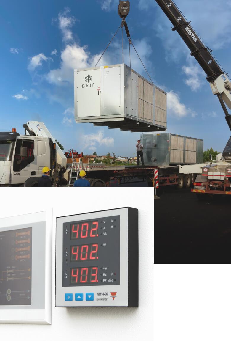 Refrigeratori - BRIF - Sistemi di refrigerazione per l'industria enologica, casearia e alimentare