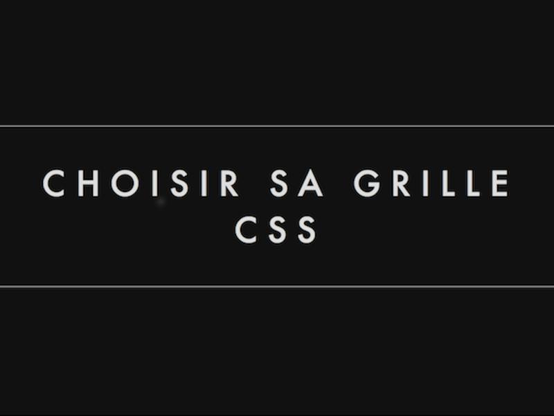 Choisir sa grille CSS - Normandie Web Expert design 2015