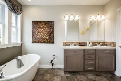 Lewisburg master bath