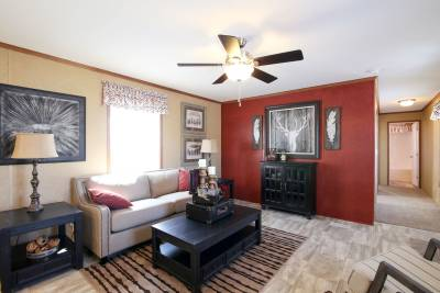 Redman Homes, Ephrata PA, Living Rooms