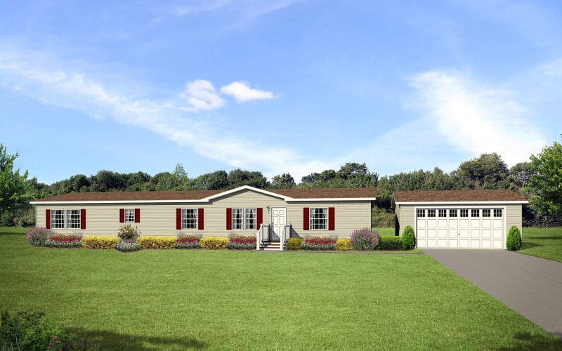 Ridgecrest 2804 with Garage by Other