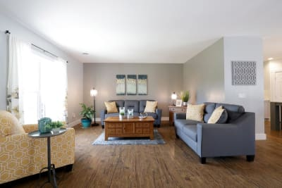 Excel Homes, The Charles, living room