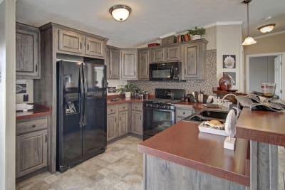 Titan Homes, Titan 602, kitchen
