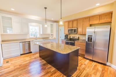 Excel Homes, Crestwood 3A, kitchen