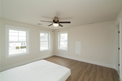Excel Homes, Boardwalk, master bedroom