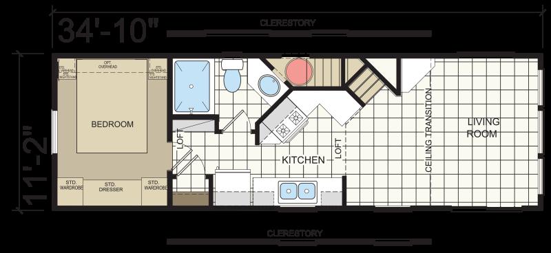 Park Model 509-SL - Atlantic Homes | Athens Park Models RV
