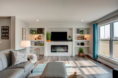 Excel Homes Living Room