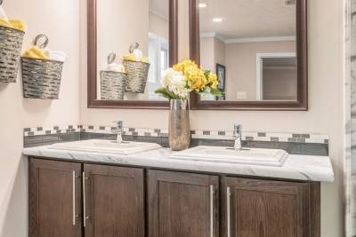 Champion Homes, Radiant Spa Bath, vanity sink
